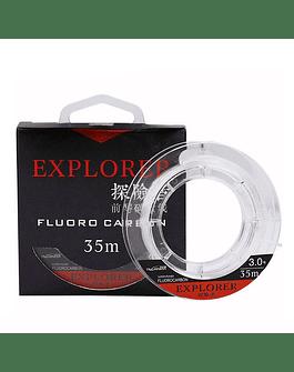 Fluorocarbono 35m, 6.0# 0.41mm Tsurinoya