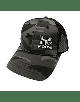 gorro black moose camo negro