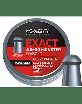 JSB Exact Jumbo Monster Rediseñado 5.5 25.39gr