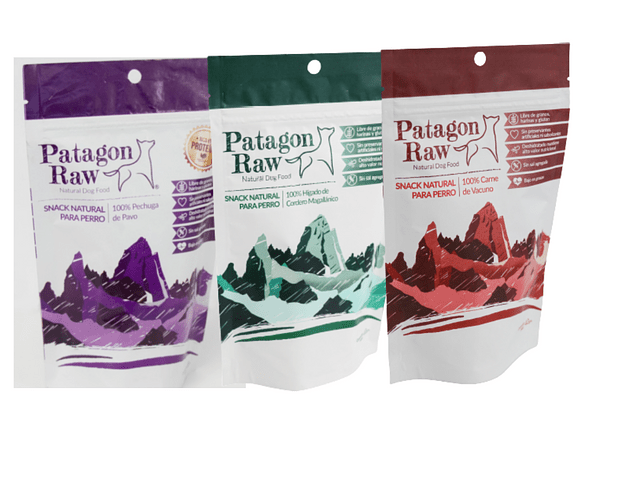 Pack Snacks Patagon Raw Variedades 2 (120 g)