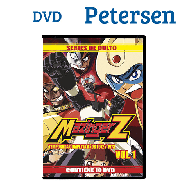 Mazinger Z temporada única Vol. 1