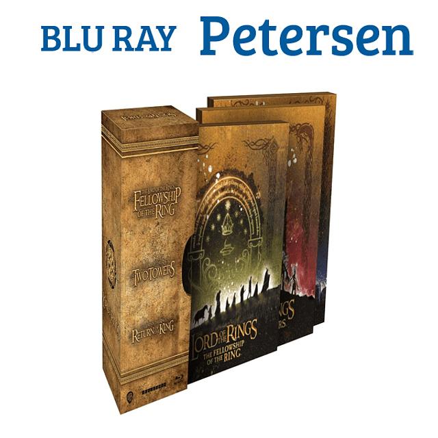 El Señor de los anillos trilogía Steelbook