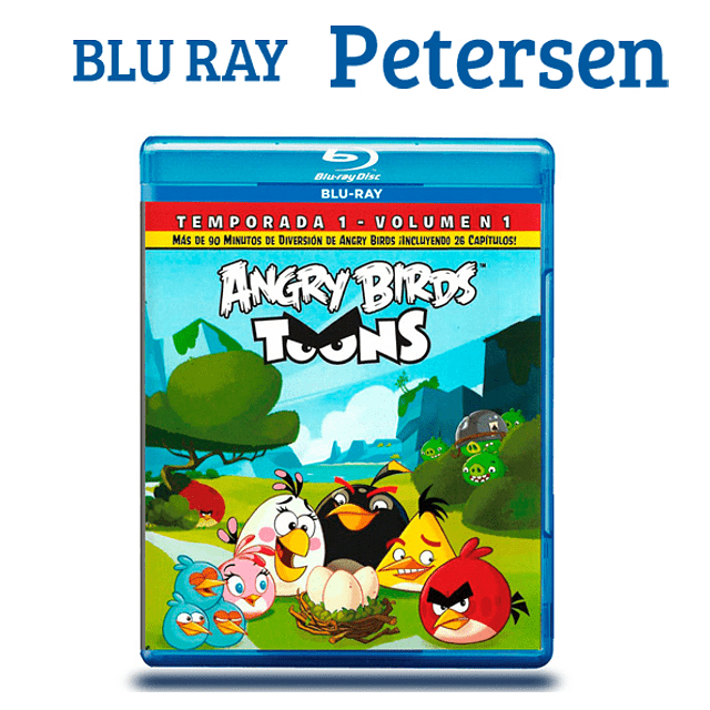 Angry Birds : Temp 1 Vol 1