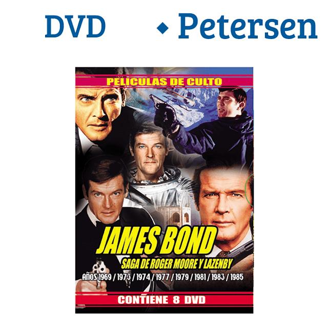 James Bond saga de Roger Moore