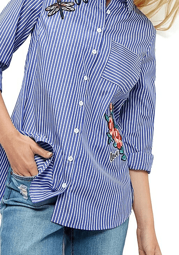 Dragonfly Striped Shirt