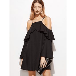 Bell Sleeves Dress