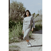 Greyish Knit Set