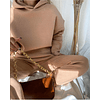Toffee Hooded Set