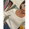 Pearly Braids Blouse
