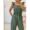 Frilled Minty Jumpsuit