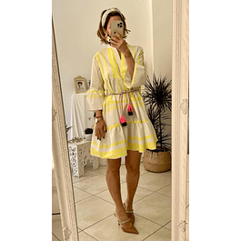 Grecian Yellow Dress