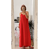 Red Lingy Dress