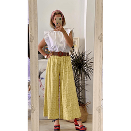 Bohemian Lime Trousers