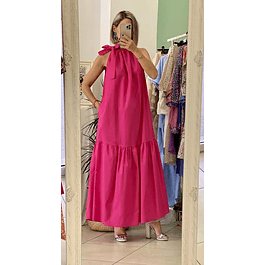 Donna Fuchsia Dress