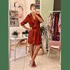 Mona Choco Dress