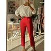 Chic Red Pants