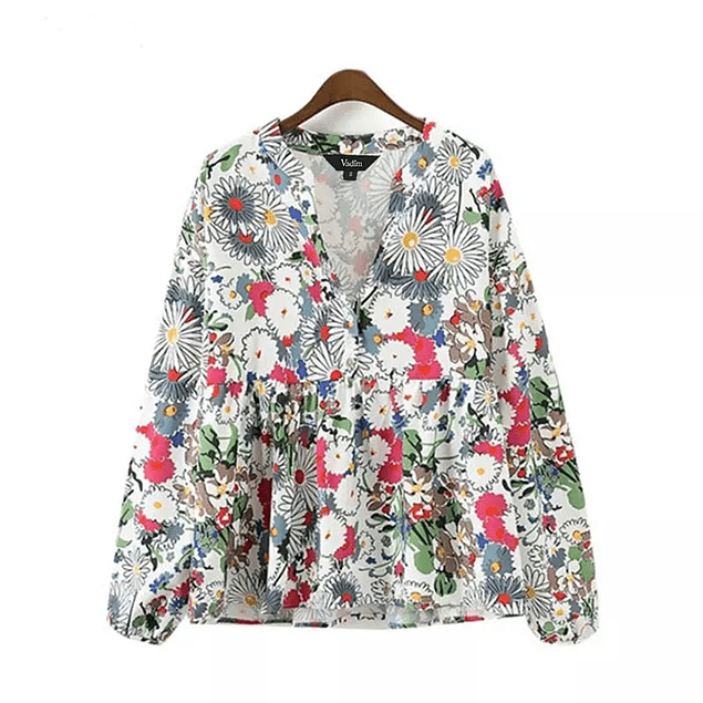 Floral Loose Blouse
