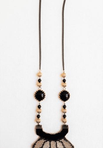 Beige Look Necklace