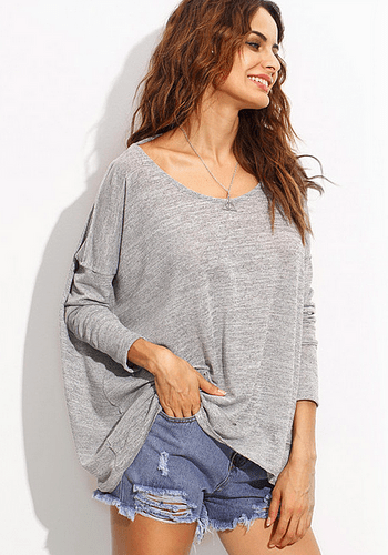 Knit Open Back Top