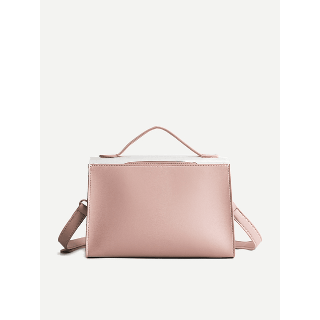 Pink C Through Bag