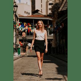 Dark Ruffle Skirt