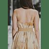 Ophelia Beige Dress