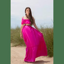 Margot Fuchsia Dress