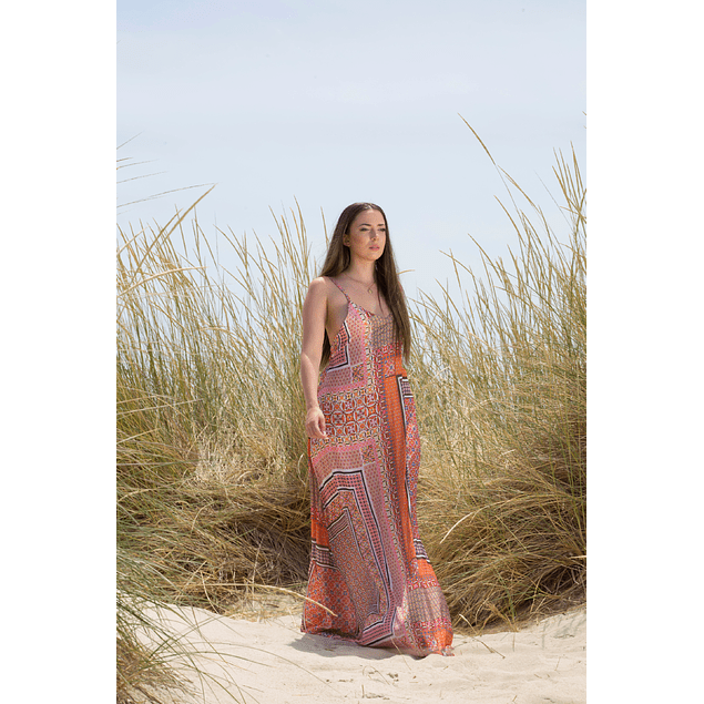 Silenced Gown Coral