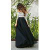 Coal Maxi Tulle Skirt