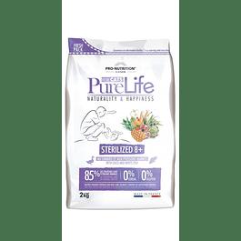 Pure Life Gato 8+ Esterilizado 8 KG