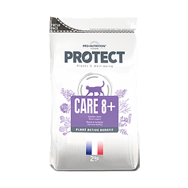 PROTECT CARE 8+ FELINO SACO 2 KG