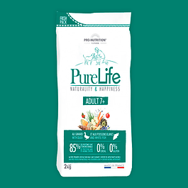 PURE LIFE ADULTO 7+ O SENIOR, SACO 2 KG