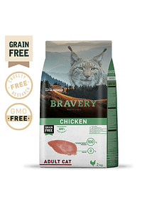 Bravery Chicken Adult Cat Grain-Free