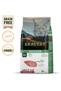 Bravery Chicken Adult Cat Sterilized Grain-Free