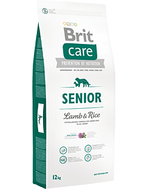 BRIT CARE Dog Senior Lamb & RICE - 12 Kgs