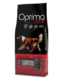 OPTIMA NOVA Active Chicken & Rice - 12 Kgs