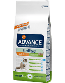 ADVANCE CAT Sterilised Turkey & Barley