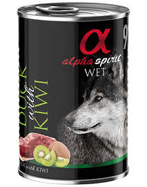 ALPHA SPIRIT Dog Pato & Kiwi