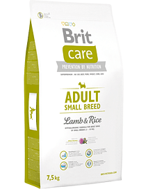 BRIT CARE Dog Adult Small Breed Lamb & Rice - 7,5 Kgs
