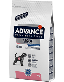 ADVANCE VET DOG Medium-Maxi Atopic with Trout