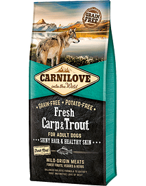 CARNILOVE FRESH DOG CARP & TROUT ADULT