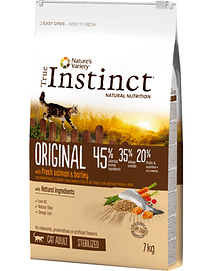 TRUE INSTINCT CAT Adult Sterilized Original Salmon & Barley