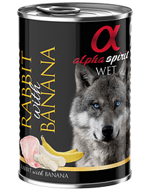 ALPHA SPIRIT Dog Coelho & Banana