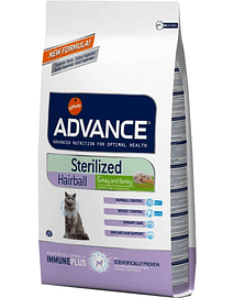 Advance Cat Sterilized Hairball Turkey & Barley