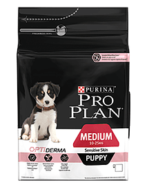 PRO PLAN Dog Medium Puppy Sensitive Skin
