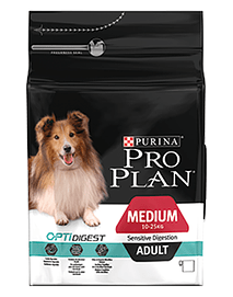 PRO PLAN Dog Medium Adult Sensitive Digestion