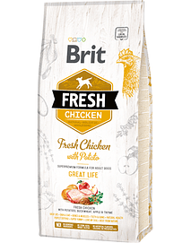 Brit Fresh Dog Adulto Great Life With Chicken & Potato