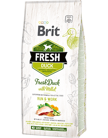 BRIT FRESH DOG ACTIVE RUN & WORK WITH DUCK & MILLET