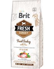 BRIT FRESH DOG LIGHT FIT & SLIM WITH TURKEY & PEA