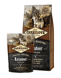 Carnilove Reindeer Adult Dog